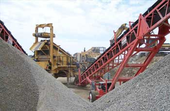 aggregate plant equipment, aggregate crushing plant